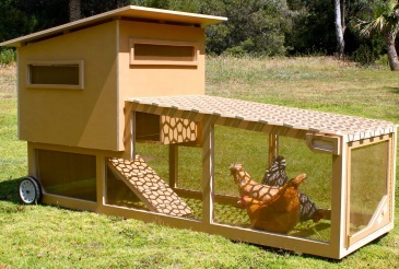 Chicken tractor plans for newbies and veterans for Moving chicken coop plans